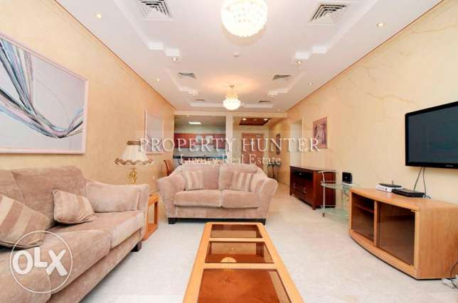 Furnished 2 Bed + Maid's room home with nice views