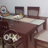 Table with 6 chair