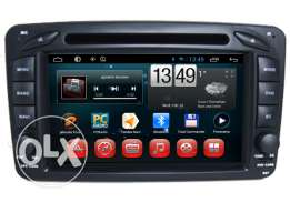 Mercedes Benz W209 Android Car Audio Radio Navigation System Quad Core