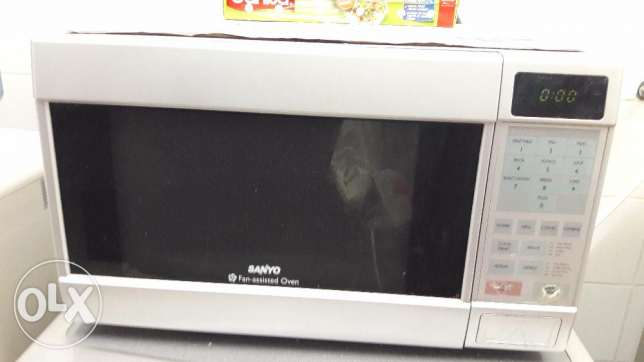 SANYO Fan-assisted Microwave Oven for sale