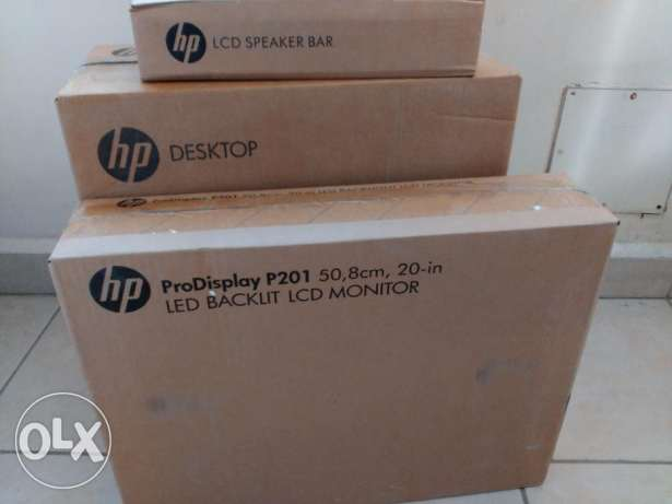 HP Elitedesk 800 G 1 SFF Desktop CPU 0020''LED Monotor 2 year Warranty