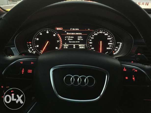 Audi A6 for sale 2014 model الريان -  2