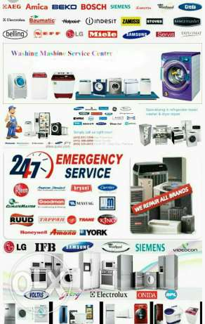 A/C,fridge,washing machine,repair
