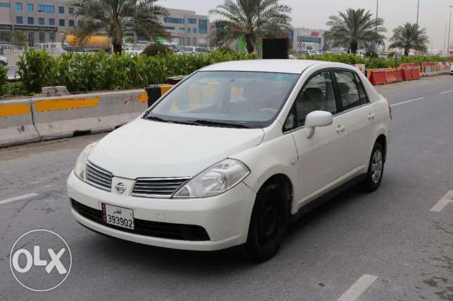 Nissan - Tiida Model 2008 -white