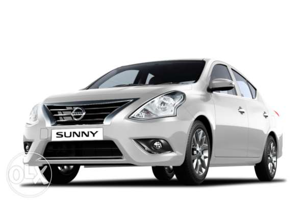 Brand new Nissan Sunny SV, in monthly payments