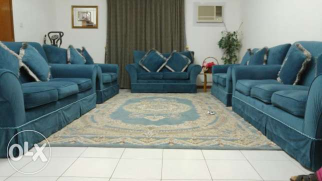Furniture Bedroom set.   Qr   1200.   Sofa set.