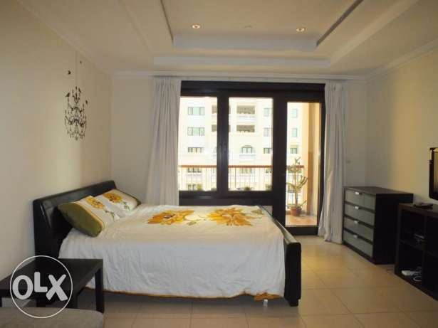 fully furnished studio apartment for rent in pearl island