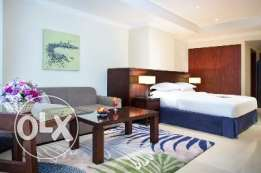 Fully-Furnished 1-BHK Flat in :The Pearl: