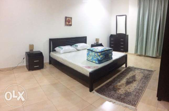 Fully/Furnished, 2-Bedroom Flat At Fereej Abdel Aziz