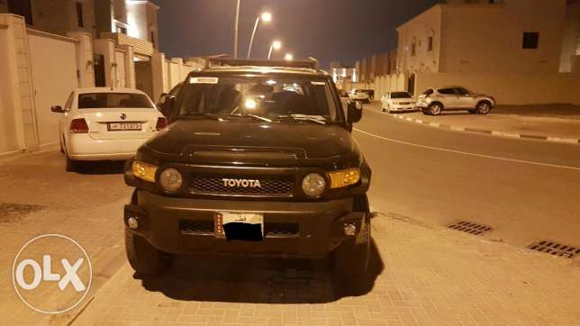 FJ cruiser TRD Black