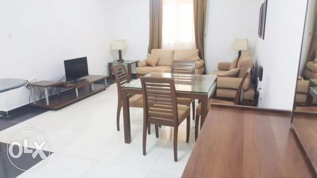 -Fully-Furnished 1-Bedroom Flat At {Mushaireb}