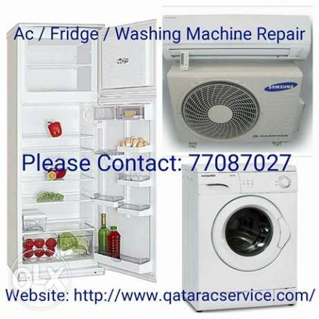 AC for sale.&.repairing AC.fridge .washing machine ..