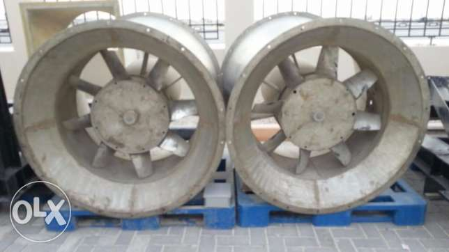 Used Stainless Steel Industrial Exhaust Fans for sale