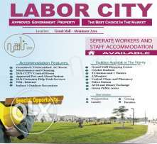 Staff Accommodation (Labor City) Companies only allowed