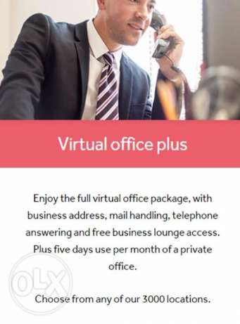 Get a professional address for your business with private office usage