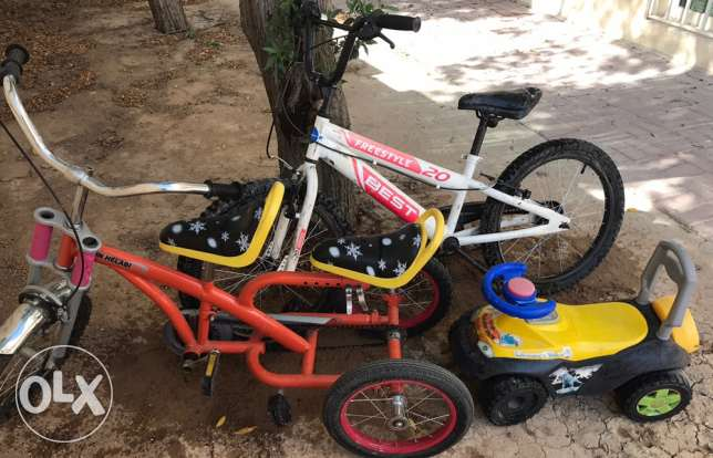 bicycle & tricycle