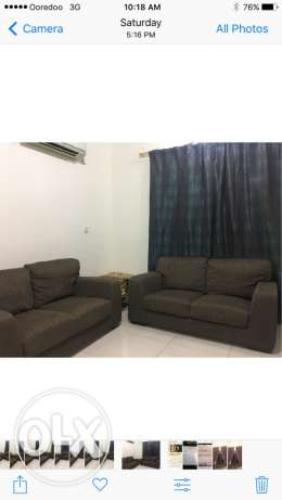 Two sofa each pice 2 seat for sale