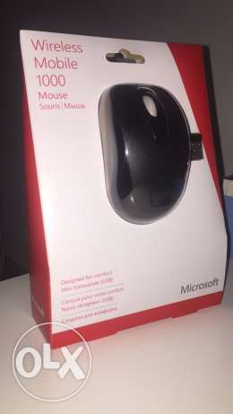 Wireless Mobile 1000 Mouse