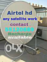 Satellite Tv work recharge