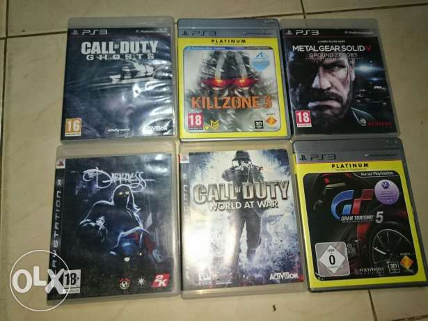 Ps3 games in good condition