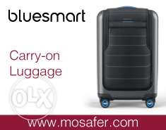"Own the World Smart Travel Luggage ""BLUESMART"" at Mosafer! - AED 1999"