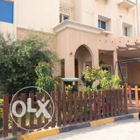 beautiful semi furnished 5 bedroom big compound villa in Al Waab