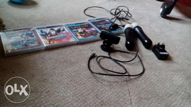 Move set with games and included power adapte