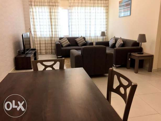 for family nice full furnished 1bhk apartment in al sadd