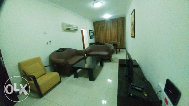 R-Spacious1Bedroom Fully Furnished Apartment For Rent Doha Jadeed