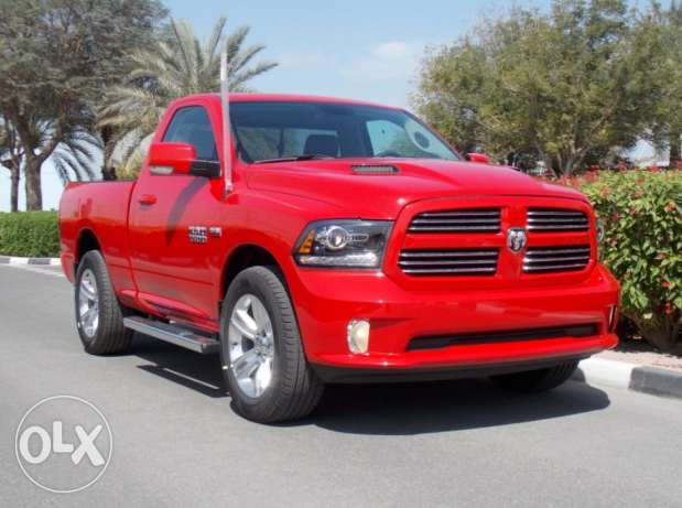 2017 Dodge Ram 1500 SPORT Red Color
