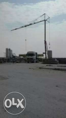Used Tower Crane For Sale