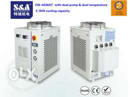 S&A chiller for laser source of IPG, MaxPhotonics and nLIGHT