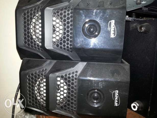 FANAR home audio system in good condition