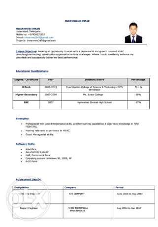Mechanical Engineer Mep / Hvac