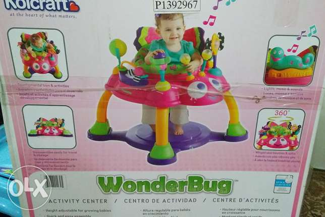 Boxed Baby Wonder Bug Chair (Kolcraft Brand) For Sale