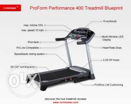 Hardly Used Treadmill