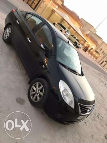 Used black Nissan Sunny 2013 model ,Excellent condition. Doctor driven