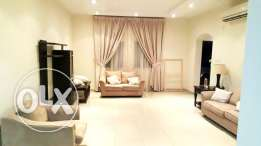 (no commission) nice 3-bedroom + maidroom furnished compound villa