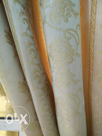 Excellent condition curtains/blinds