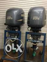 2003 YAMAHA Pair 225hp four stroke Twin EFI