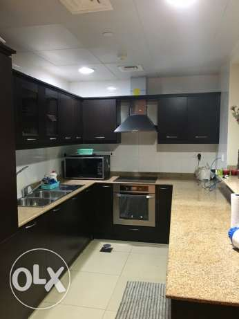 Spacious Studio with balcony furnished! Pearl الؤلؤة -قطر -  4