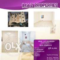 Bachelors Apartment- 3BHK Unfurnished- Bin Omran