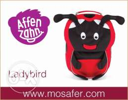 Ergobag - AFFENZAHN Backpack Ladybird at Mosafer - AED 149.00