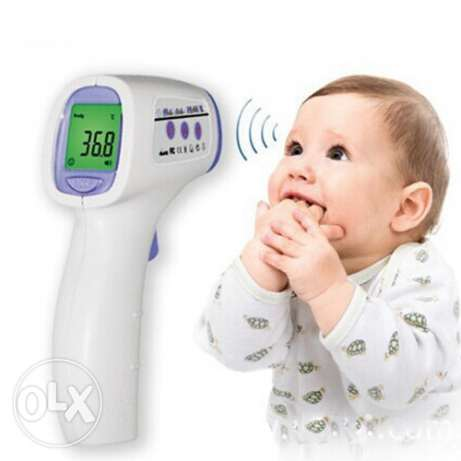 Generic Non Contact Infrared IR Thermometer Temperature Laser Gun Poin عين خالد -  3