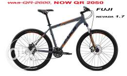 Brand New Best Quality Bikes FUJI NEVADA 27.5' 1.7 model 2016