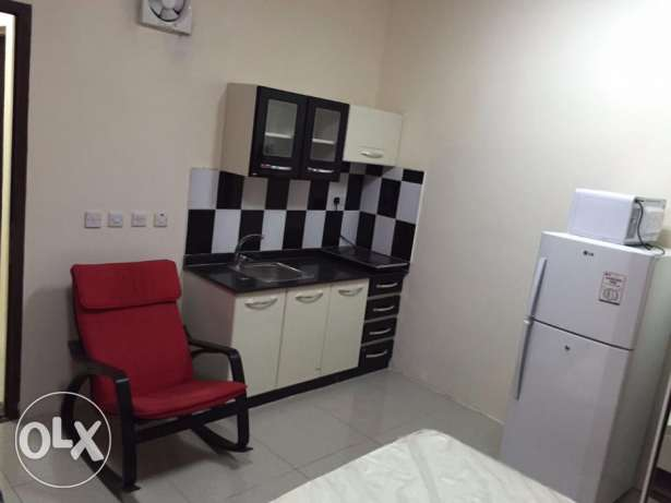 /3500/-Qr.01 bed room flatAin khalid FF(W&Eincluded) /