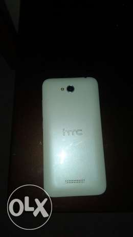 Htc 616 good condition mobile with pouch الكورنيش -  3