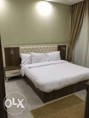 Brand new flat in al sadd 2bhk fully furnished nice and clean one