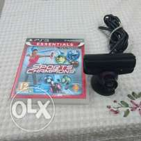 Camera and sport game for PS3