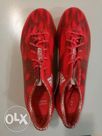 Unused adidas adizero FG soccer shoes